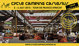 Cycling Camping Cartesius: Tour de France in hartje Utrecht
