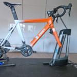 Wrap my Bike - Zwift fiets pain cave