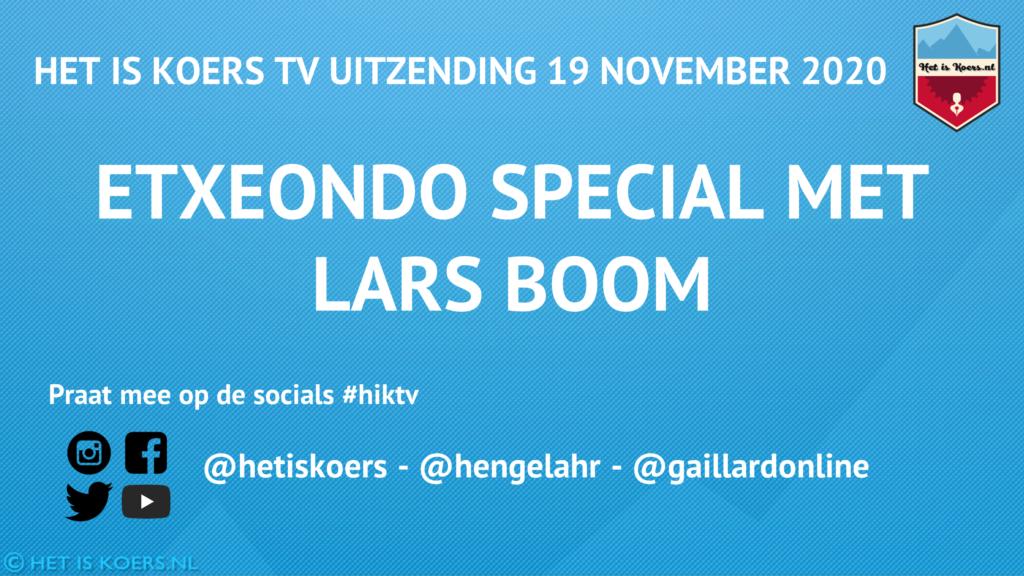 HiK TV Lars Boom Etxeondo