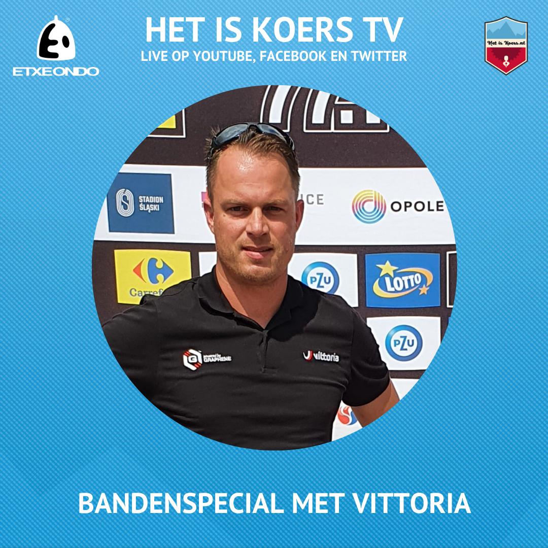 Het is Koers TV Vittoria